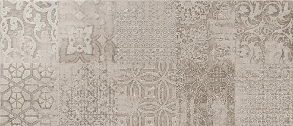 Faïence décor ARGILLE belize nogal 26x60,5cm