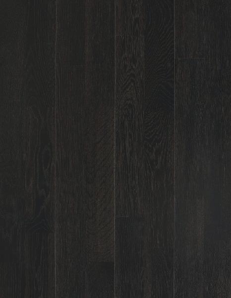 Parquet c/collé chêne CHARCOAL brossé vernis mat 15x200x2423mm