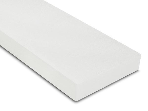 Polystyrène expansé IPLB 100 blanc lisse BD 100mm 120x60cm par 5 R=2,6