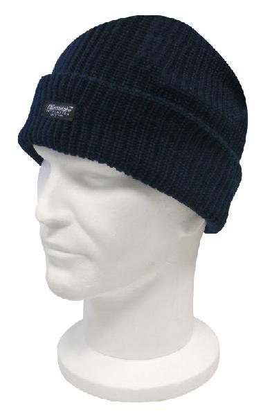 Bonnet acrylique ALPAGE bleu marine