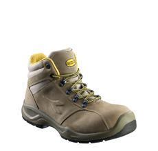 Chaussures de sécurité hautes FLOW II marron S3 SRC T.39