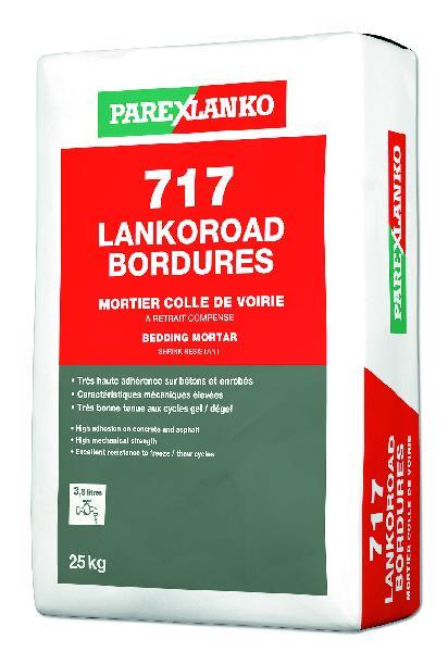 Mortier pour scellement de bordures 717 LANKOROAD gris sac 25kg