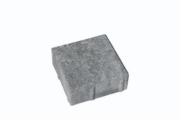 Pavé LES VOSGES brute 15x15cm gris nuancé Ep.6cm