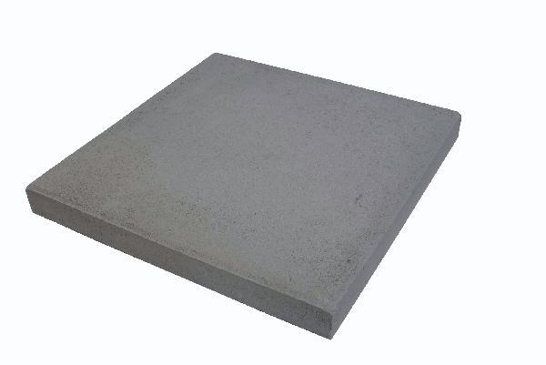 Dalle HORIZON lisse 50x50cm Ep.50mm anthracite T7
