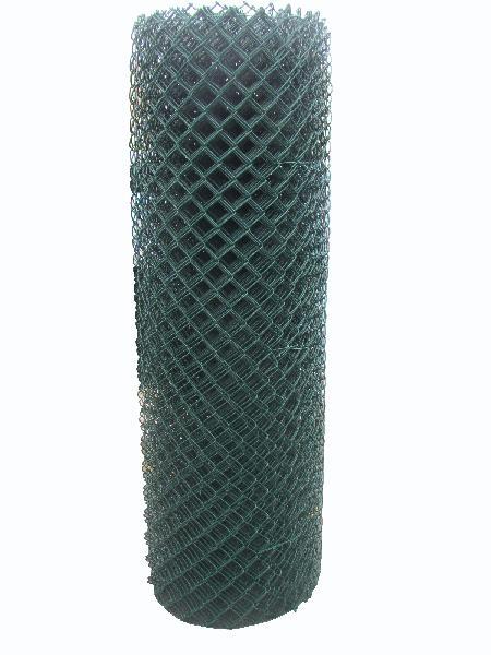 Grillage simple torsion non compacté 50mm H.2,00m vert rouleau 25m