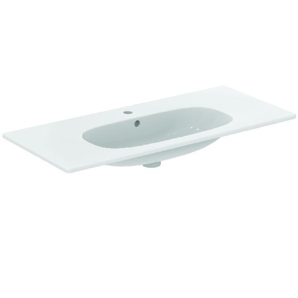 Lavabo TESI autoportant blanc céramique 82,5 x45cm