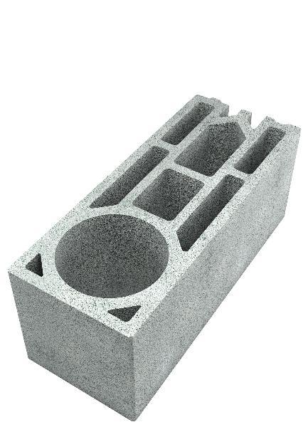 Bloc thermique à coller FABTHERM ECO2 angle 20x20x50 B50 CE+NF