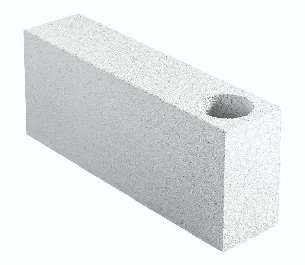 Bloc angle béton cellulaire chaînage vertical 15x25x62,5cm