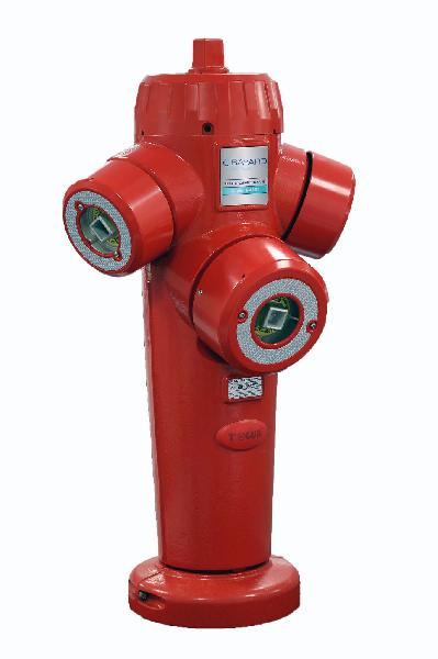 Poteau incendie SAPHIR SMART DN080 n°3 H.1,00m NF