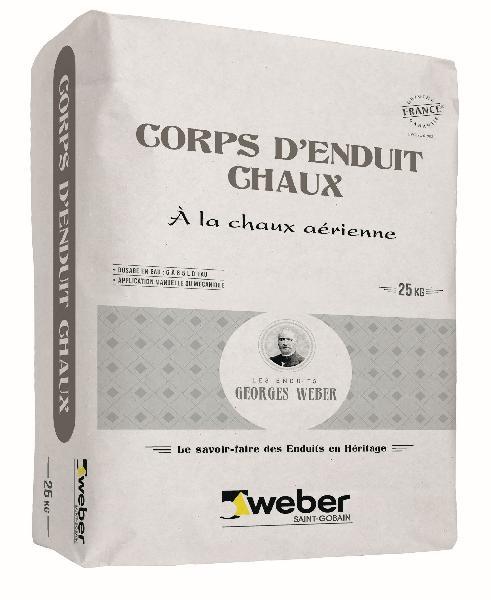 CORPS D'ENDUIT CHAUX blanc allégé sac 25kg