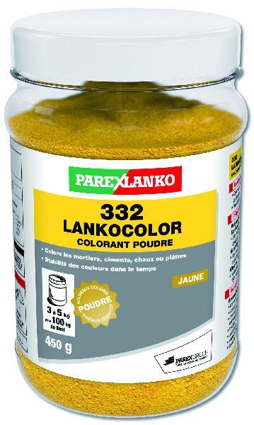 Colorant ciment 332 LANKOCOLOR jaune dose 450g