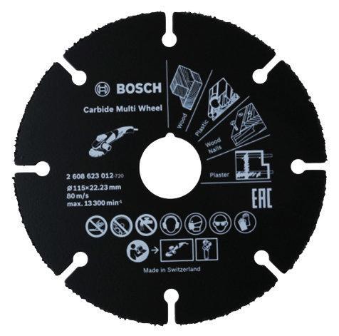 Disque à tronçonner matériaux carbure Ø76x1mm