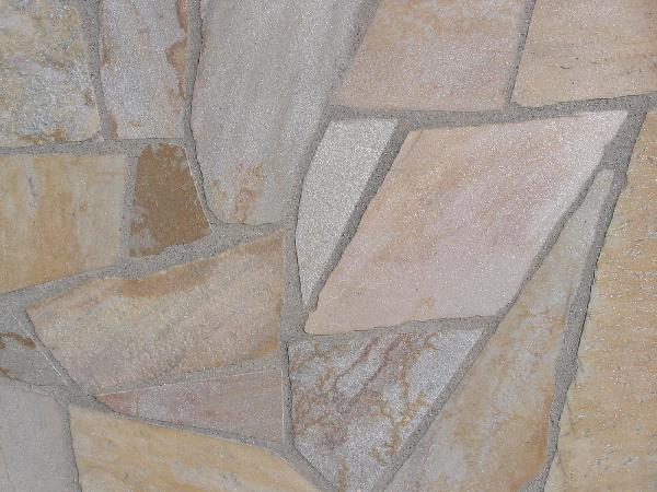 Dallage quartzite opus incertum jaune ep.15/25mm