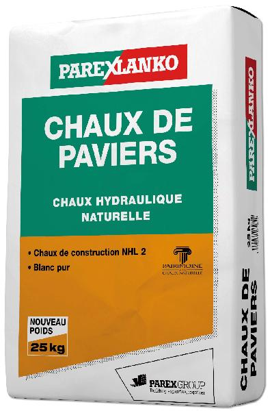 chaux hydraulique naturelle de paviers nhl 2 sac 25kg. Black Bedroom Furniture Sets. Home Design Ideas
