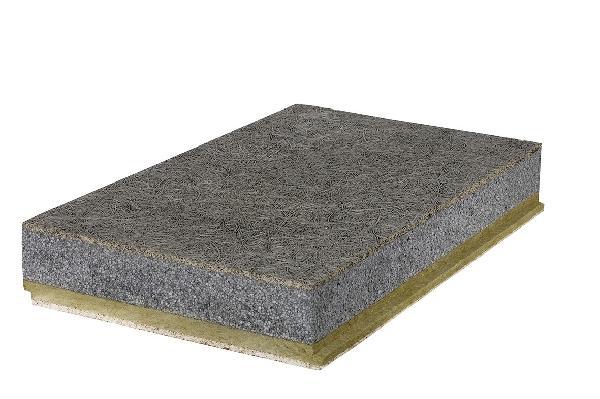 panneau laine de bois stisolith 50mm 200x60cm r 0 7 samse. Black Bedroom Furniture Sets. Home Design Ideas