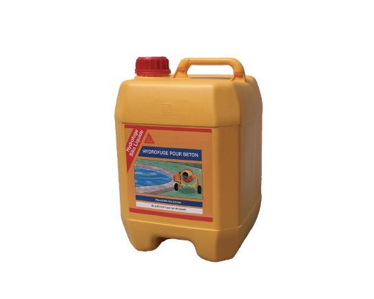 Hydrofuge de masse hydrofuge sika liquide bidon 5l for Hydrofuge sika liquide