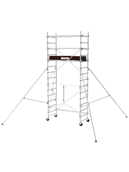 Echafaudage roulant T-ONE 155 alu ht plancher 2,70m