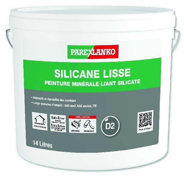 Peinture minérale façade SILICANE lisse mat G00 14L