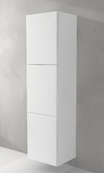 Colonne Salle De Bain 3 Portes Sting Blanc 45x170cm Samsefr
