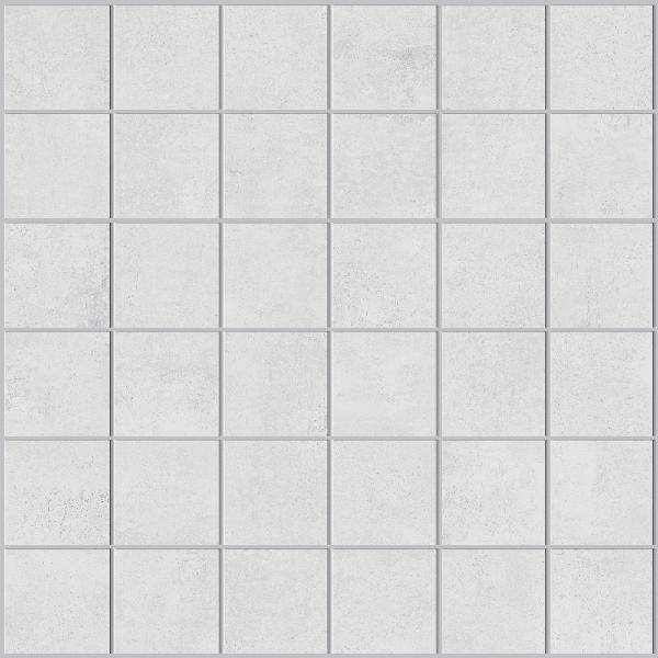 Mosaïque STUDIO blanc 4,7x4,7cm