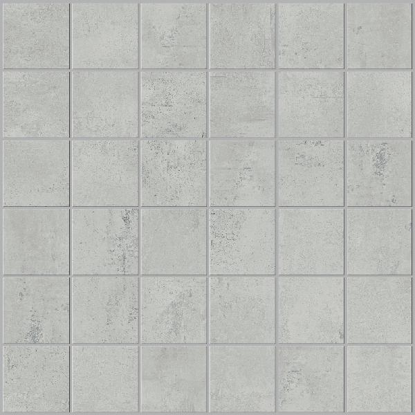 Mosaïque STUDIO gris 4,7x4,7cm