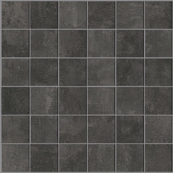 Mosaïque STUDIO anthracite 4,7x4,7cm