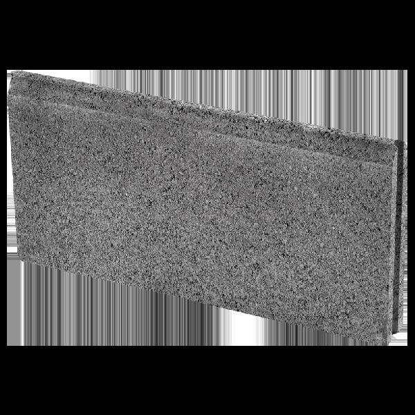 Bordurette DROITE Ep.5x20x50cm anthracite