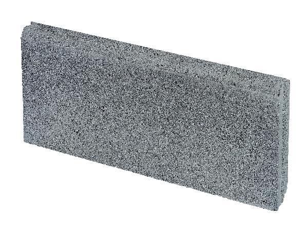 Bordurette DROITE Ep.5x25x50cm anthracite
