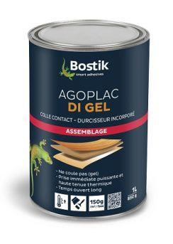 Colle AGOPLAC DI gel avec durcisseur incorporé bidon(s) 5L