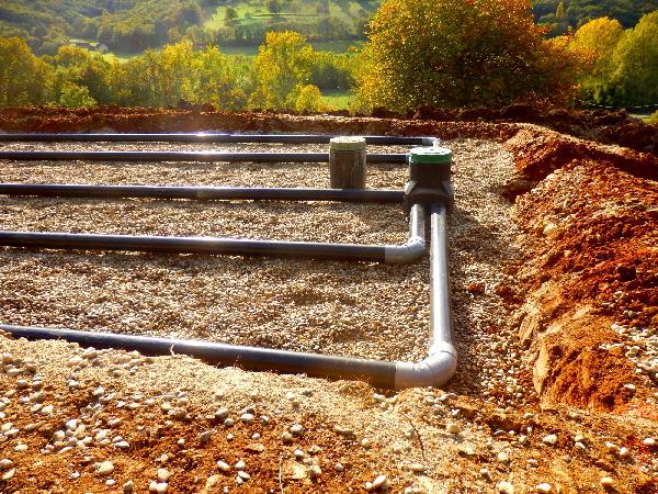 Indigéotextile épandage et assainissement rouleau 0,7x75m DTU 64-1