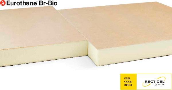 Polyuréthane EUROTHANE BR BIO bord droit 120mm 60x60cm par 8 R=5,45