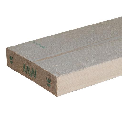 Avivé épicéa bois du nord blanc non classé Ep.025mm x150mm 5,10m