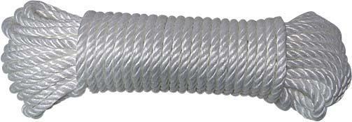 Cordage polypropylène blanc 1,730T 25mx12mm