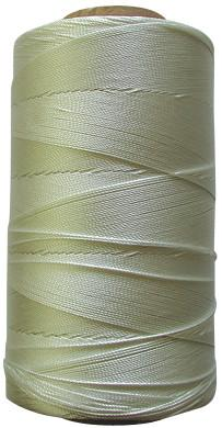 Bobine retors tirage de ligne polyamide blanc 0,055T 2600m 2,6Kg