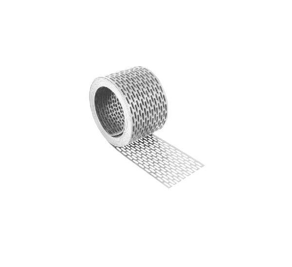 GRILLE D'AVANT TOIT PVC 50MM 5M BLANC rouleau(x)
