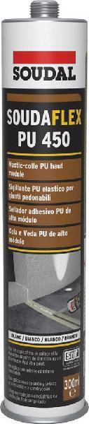 Mastic-colle SOUDAFLEX 450 PU blanc cartouche 310ml