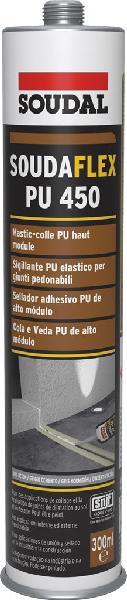 Mastic-colle SOUDAFLEX 450 PU gris béton cartouche 310ml