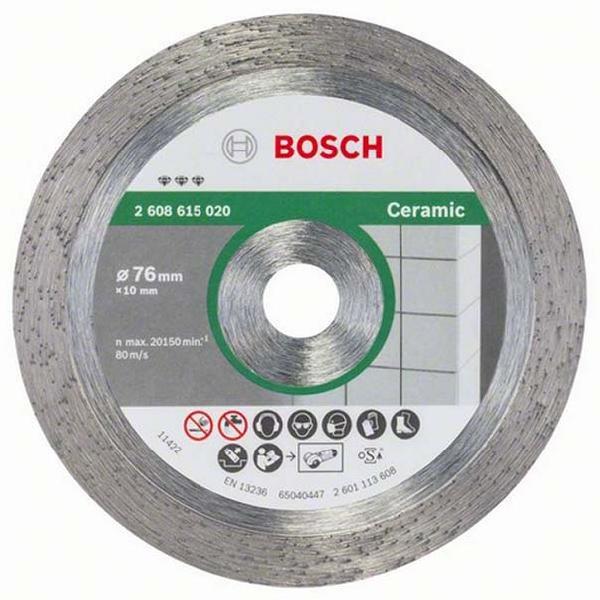 Disque à tronçonner céramique Ø76mm pour GWS 10,8
