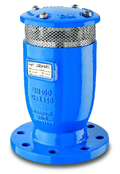 VENTOUSE FOX 3F RFP DN060-065 PFA 16BAR AVEC ROBINET ISO PN10-16