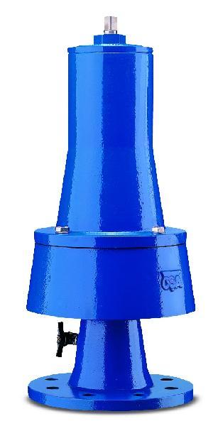 SOUPAPE FONTE VRCA DN150 0-4BAR PFA25 ISO PN10-16