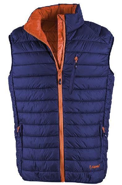 Gilet THERMIC VEST bleu/orange T.L