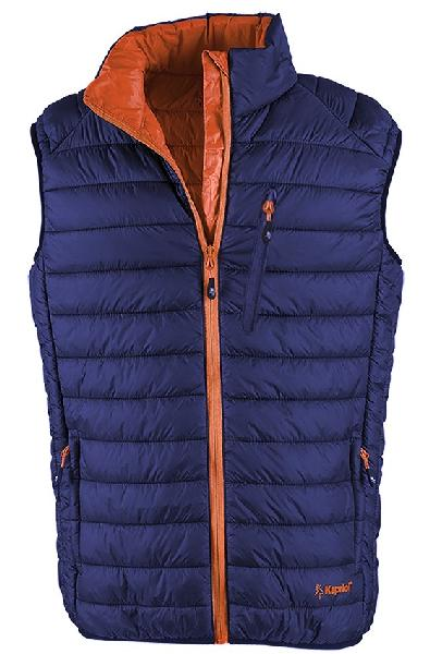 Gilet THERMIC VEST bleu/orange T.XL