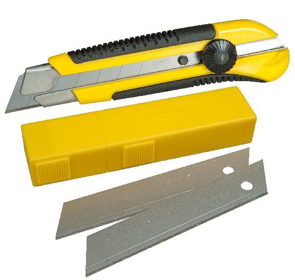 Cutter bi-matière 25mm + 10 lames offertes