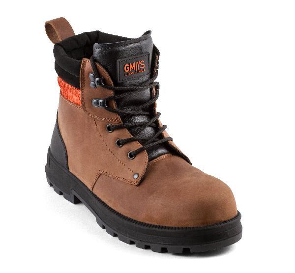 Chaussures de sécurité hautes MONSTER marron S3 SRC T.40