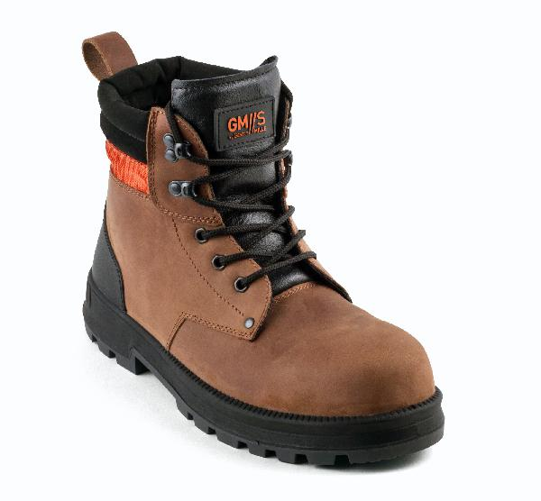 Chaussures de sécurité hautes MONSTER marron S3 SRC T.43