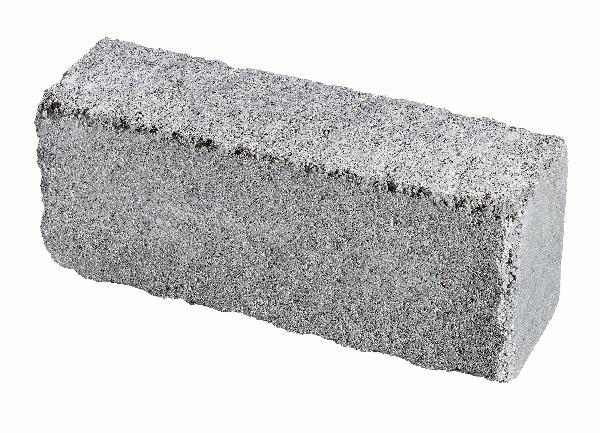 Muret CLAIREFONTAINE gris nuancé 50x15 H.20