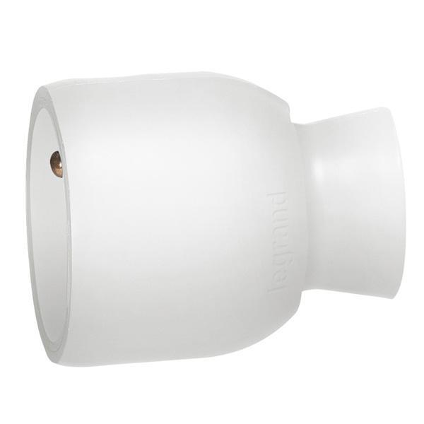 Prolongateur 2P+T plastique 16A blanc