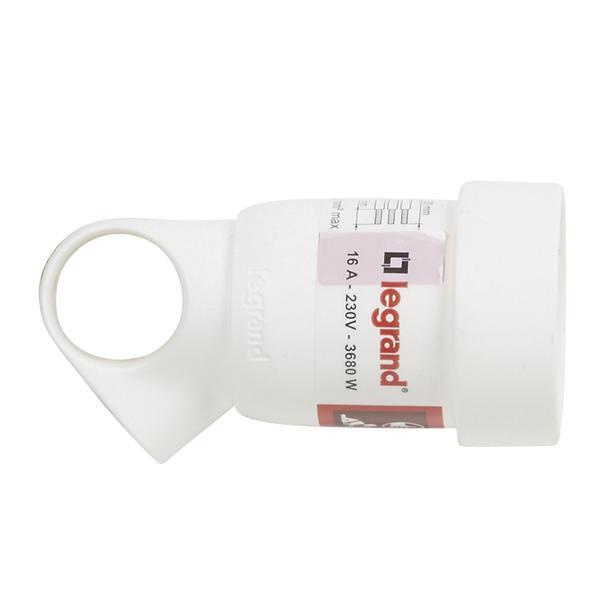 Prolongateur 2P+T anneau blanc