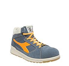 Chaussures de sécurité hautes D-JUMP bleu/orange S3 SRC ESD T.40