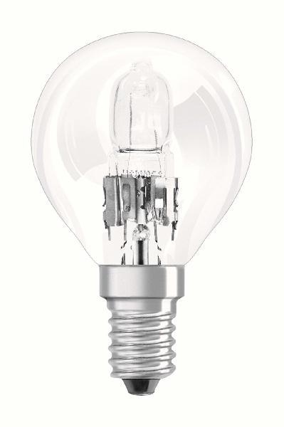 Ampoule sphérique HALOGEN CLASSIC P 20W E14